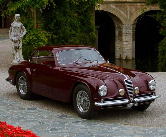 1949 ALFA ROMEO 6C 2500 SS VILLA D'ESTE - by Carrozzeria Touring Superleggera of Milan