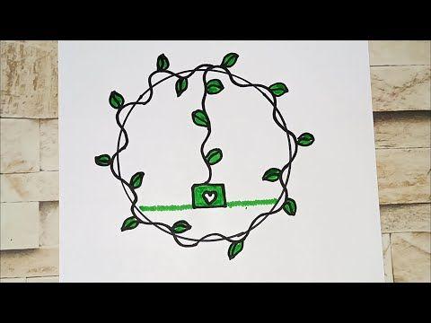 رسم سهل تعليم رسم شكل ورق شجرة سهل وجميل Youtube Home Decor Decals Home Decor Decor