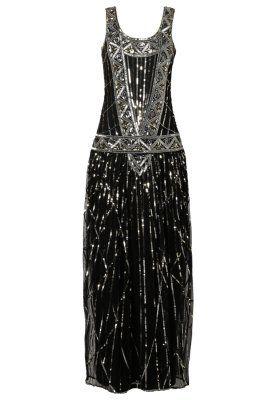 Mit diesem Kleid durchlebst du die Goldenen Zwanziger. Frock and Frill FRANCESCA - Maxikleid - black für 160,95 € (08.05.15) versandkostenfrei bei Zalando bestellen.