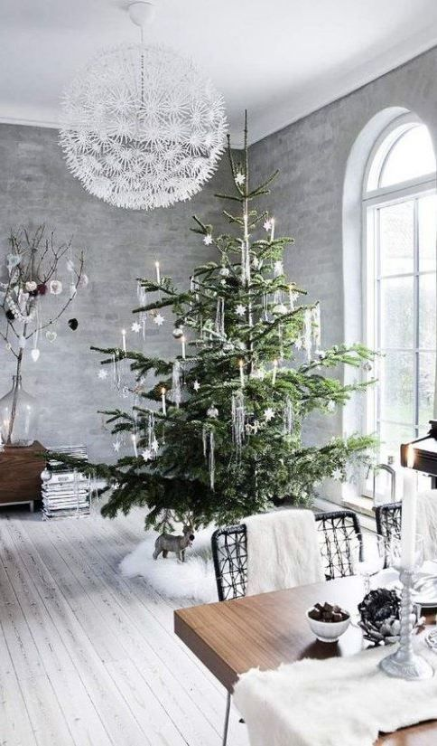 73 Beautiful Examples Of Scandinavian Style Christmas Decorations Modern Christmas Decor Modern Christmas Beautiful Christmas