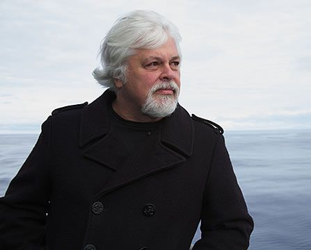 Paul Watson: animal rights and environmental activist who founded the  Sea Shepherd Conservation Society, which takes direct action to end Japanese whaling