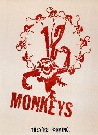 12 MONKEYS: Movie Posters, Favourite Film, Science Fiction, Film Posters, 12Monkey, Favorite Movie