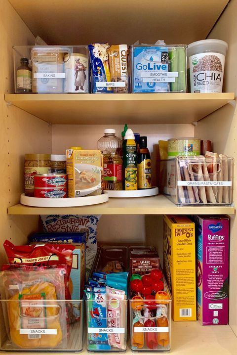 Get Your Pantry Organized This Year With These Genius Tips Deep Pantry Organization Kitchen Organization Pantry Deep Pantry