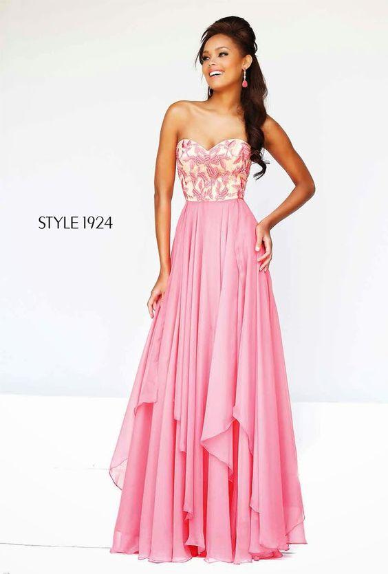 Increibles vestidos de fiesta para jovencitas | Vestidos Sherri Hill Colección 2015