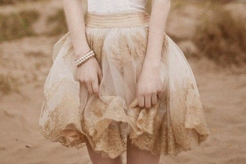 pastel, lace dress