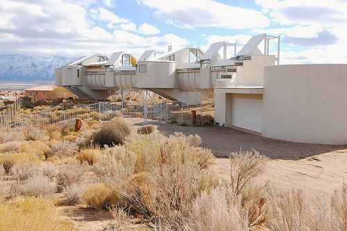 Bart Prince Architect Fu Residence The Snake House On Huron Drive Rio Rancho Crazy Home Crazy Houses New Mexico Homes