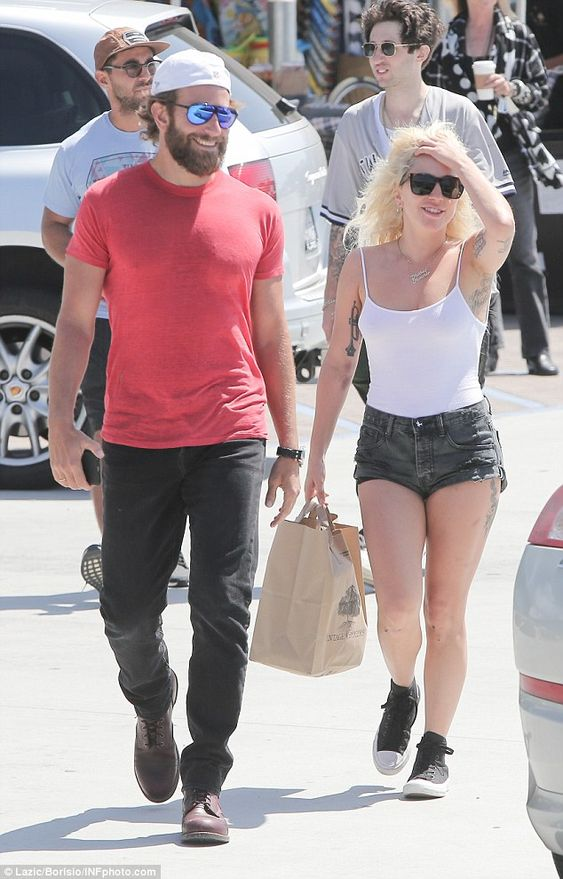 Just business: Lady Gaga, 30, and Bradley Cooper, 41, enjoyed a shopping trip together in Malibu on Sunday