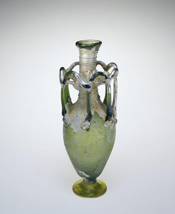 Roman Glass: Flask, 400-599 | Corning Museum of Glass