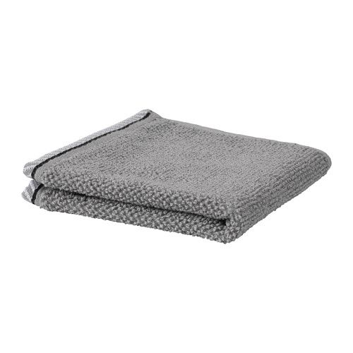 Vikfjard Washcloth Grey 30x30 Cm Ikea Towel Bath Mats Washcloth Gray Towels