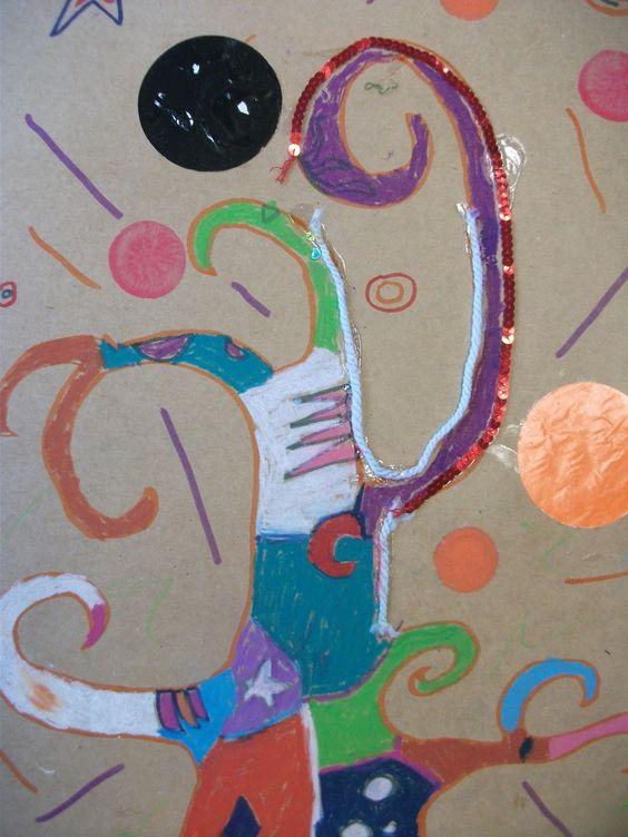 www.shelleyjayne.com   /creative workshop /Gustav Klimt style