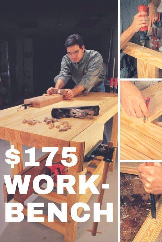 175 Workbench Popular Woodworking Magazine Buildwoodtable Learn Woodworking Beginner Woodworking Projects Popular Woodworking
