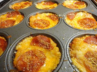 Muffin Pan Pizza