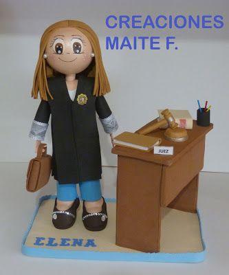 FOFUCHAS. Manualidades y Creaciones Maite: FOFUCHA JUEZA PERSONALIZADA ELENA