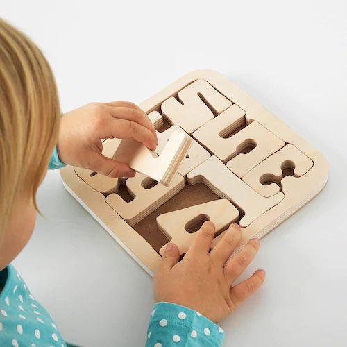 IKEAのおもちゃパズルとそろばんで幼児期から算数に強くなる!