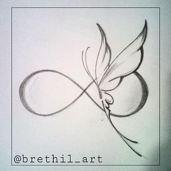 Mariposa Infinity Tattoos Tattoos Cute Tattoos
