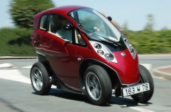 Lumeneo Smera ist die Konkurrenz für das Elektroauto Renault Twizy