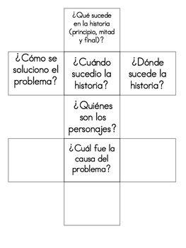 Reading Dice...LOTS of free bilingual resources here. Una forma creativa de comprobar la comprensión.