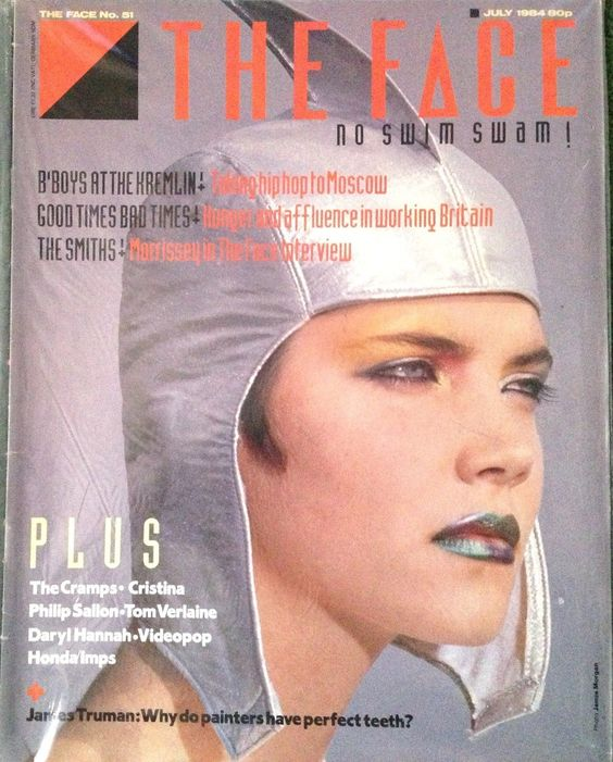 The Face July 1984 The Smiths Morrissey The Cramps Daryl Hannah