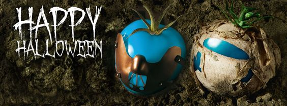 We wish you spooky Halloween!