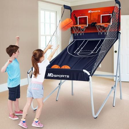 MD Sports Premium 2-Player Basketball Game - Walmart.com
