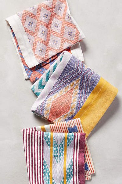 50 Cool Decorating Pieces Under $50 from Anthropologie: Sonora Cocktail Napkins, $6