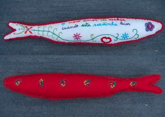 """A minha sardinha para o concurso Festas Lisboa 2012 /My sardine for """"Festas de Lisboa 2012"""" contest by herbariodocolibri, via Flickr"""
