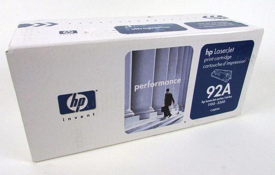 HP 92A C4092A Ink LaserJet Laser Jet 1100 3200 NEW #HP