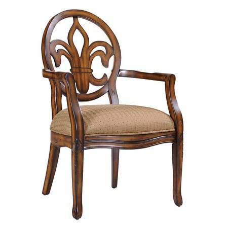 I pinned this Fleur de Lis Accent Chair from the Best Sellers at the Best Prices event at Joss and Main!