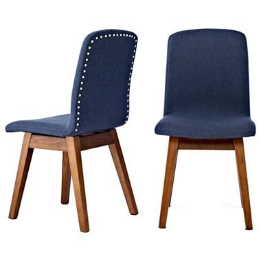 Happy Chic by Jonathan Adler Bleecker Side Chairs, Pair - jcpenney $690 |  dining room | Pinterest | Chairs,