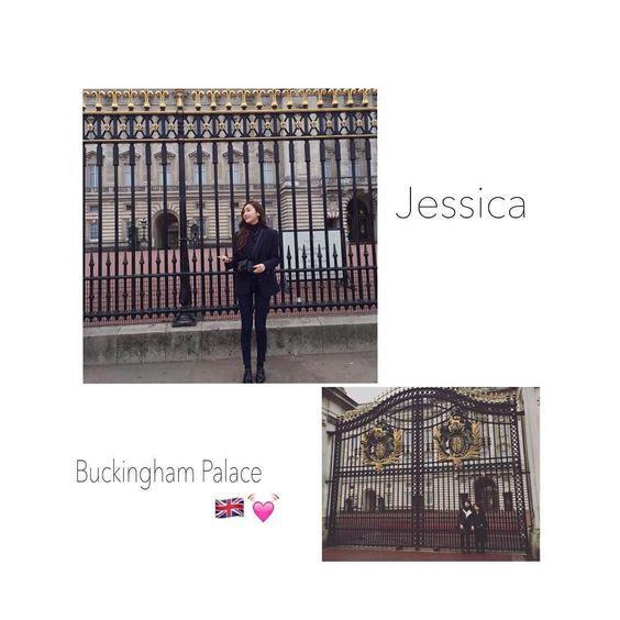 24th Mar 2016. うおすごいまさかのJessica... パリ行ってた時点で1日だけかぶってて感動してたのにフランスからのイギリス行っててしかも同じとこで写真も撮ってた 行ってる順番逆やったけど嬉し過ぎて更新してくれるのワクワクしてしまう  #jessica #buckinghampalace  #london #sameplace  by anju_styles_