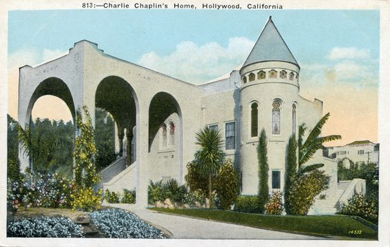 old mansions in hollywood Homes of Movie Stars California A