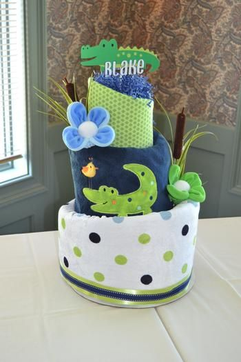 Fun Alligator Baby Shower by Baby blossom co via www.babyshowerideas4u.com #babyshowerideas4u