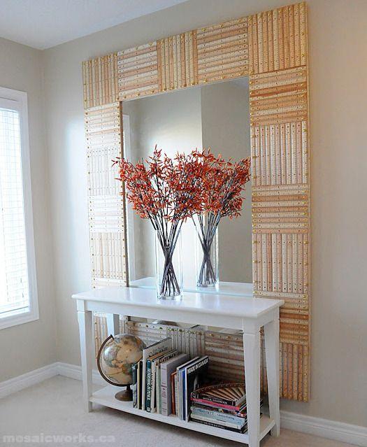 50 Easy Diy Mirror Frame Ideas You Can Make Right Now Mirror