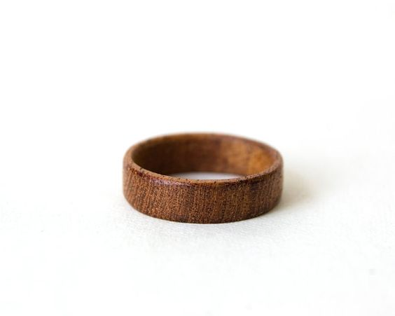 Hey, I found this really awesome Etsy listing at https://www.etsy.com/listing/185407947/mahogany-ring-unisex-wood-ring-men
