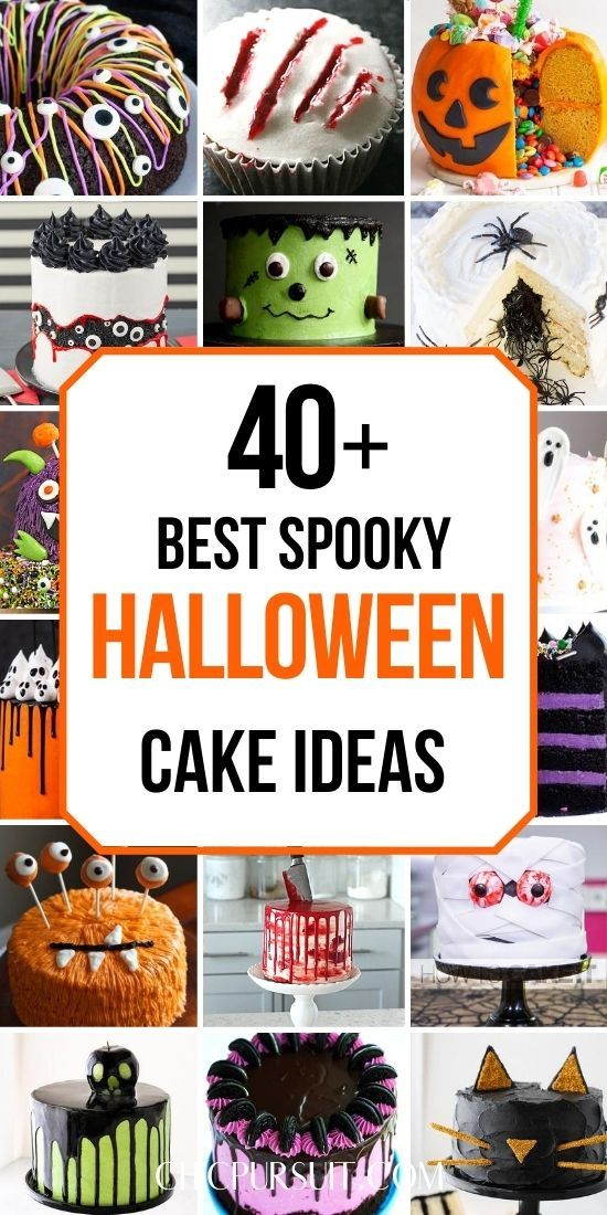 Halloween Cake Ideas 2020 40+ Best Spooky Halloween Cakes That You Need To See in 2020