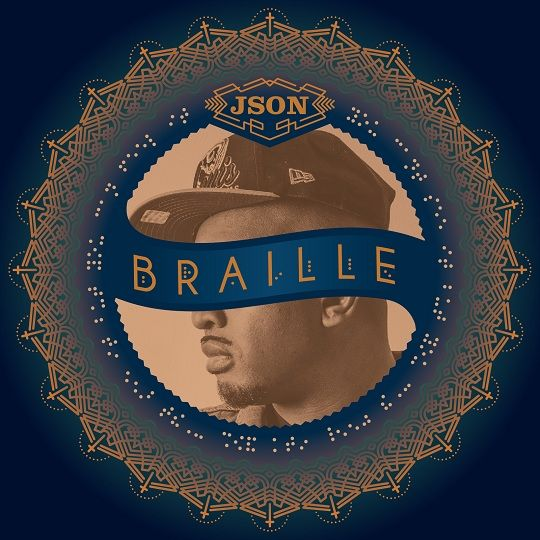 json of lampmode recordings new album cover braille design by scouts honor