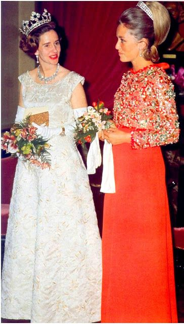 THE FAMILY H.M. Queen Fabiola of The Belgians and H.R.H. Princess Paola of Liege, later Queen of The Belgians