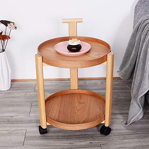 Weters Sofa Side Table Simple Wheeled Living Room Small Coffee Table Mobile Multi Function Trolley Portable La Simple Side Tables Small Coffee Table Side Table