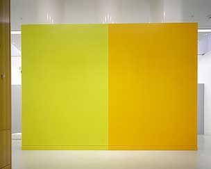 Bertrand Lavier, Jaune soleil par Astral et Corona