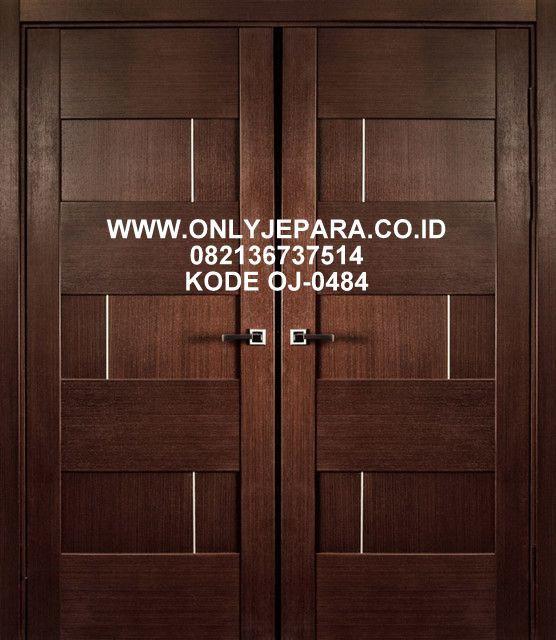 Pintu Kupu Tarung Minimalis Jati 2019 Kusen Pintu Minimalis Toko Furniture Jepara Pintu Minimalis Desain
