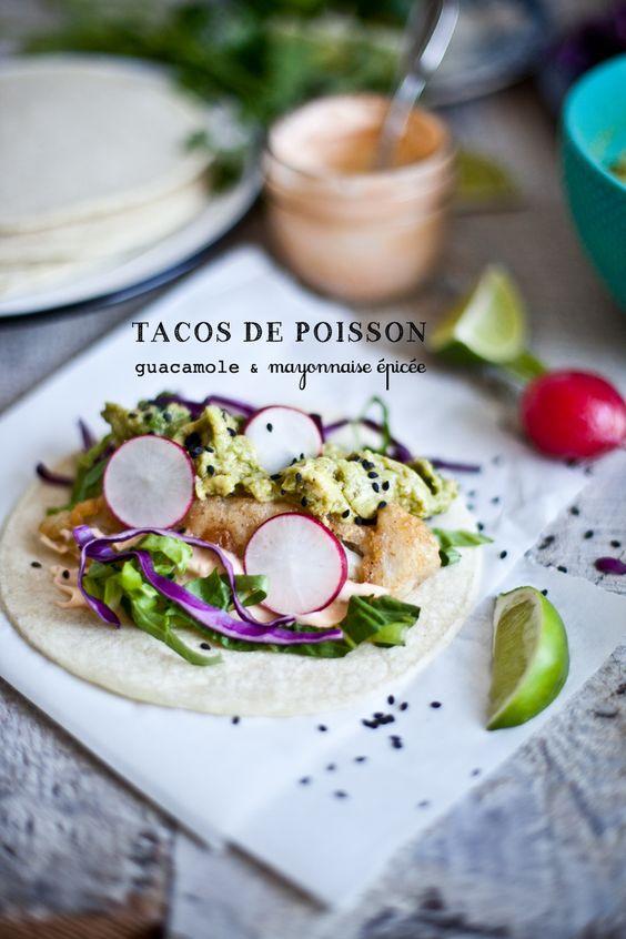 Récit de vacances en images & Tacos de poisson épicé