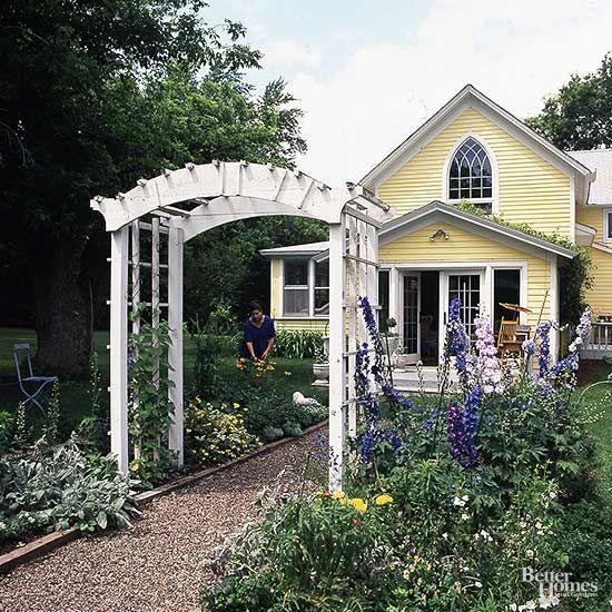 17 Stylish Arbor Ideas | Front Yards Dress Up And Arbors Trellis