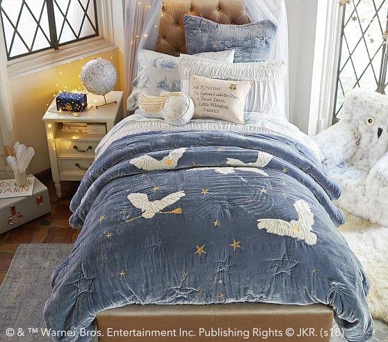 Harry Potter Hedwig Quilt Harry Potter Room Decor Harry