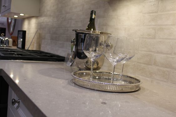Beautiful Caesarstone quartz surfaces www.caesarstone.ca