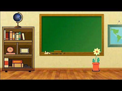 BACKGROUND ANIMASI BERGERAK CLASSROOM 3 - YouTube Di 2021 | Tema Kelas,  Papan Kelas, Animasi