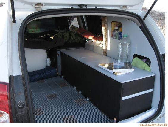 Dacia Duster Overland >> dacia dokker van camper - Google zoeken | Bucketlist: Travelling in a Van | Pinterest | Campers ...