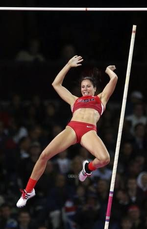 The purpose Top women pole vaulter