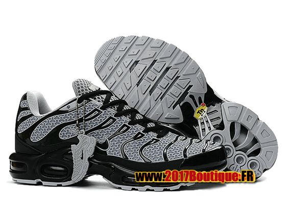 Nike Air Max Tn/Tuned Requin 2017 Chaussures Nike Baskets Pas Cher Pour Homme Noir