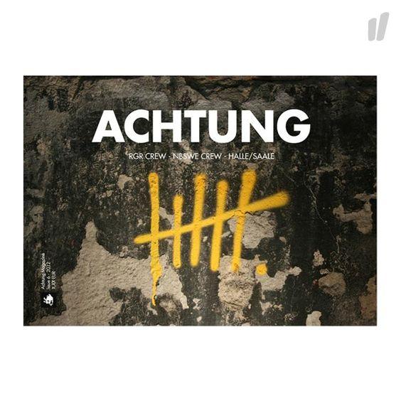 Achtung #6 Leipzig Magazin - http://www.overkillshop.com/en/product_info/info/9930/