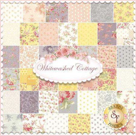 Whitewashed Cottage by 3 Sisters for Moda Fabrics - Yardage ... : moda quilt fabric - Adamdwight.com